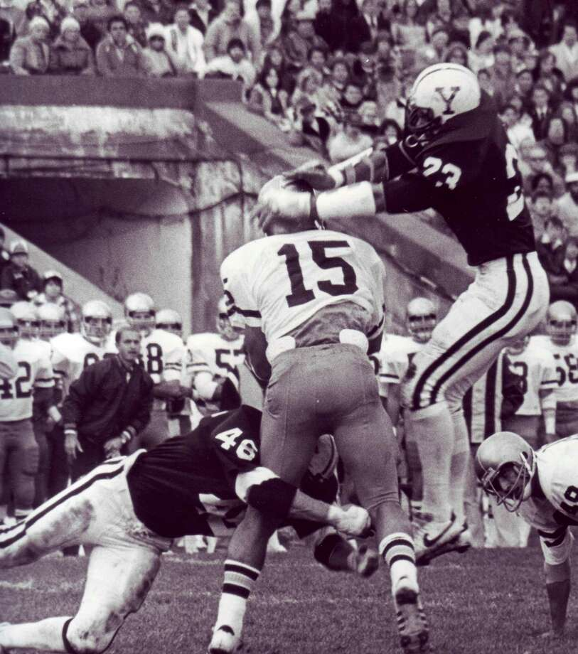 Yale's Jeff Rohrer in a game against Brown. Photo: Yale Athletics / Contributed Photo