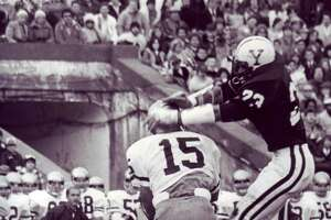 Yale's Jeff Rohrer in a game against Brown.