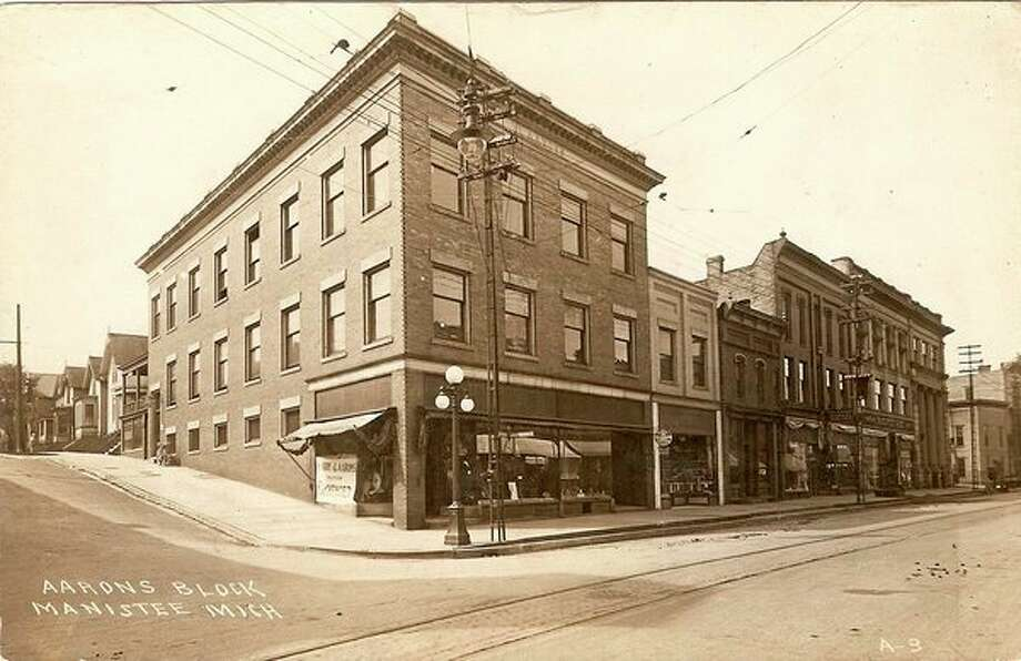 The Aarons Building, located on River Street and the current home of Outpost, is shown circa 1900s.