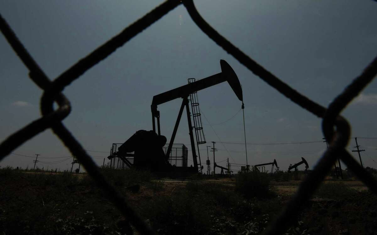 Oil is the leading source of heat in Connecticut homes at about 42 percent. Here, oil pumps are at work on an oilfield in Los Angeles.
