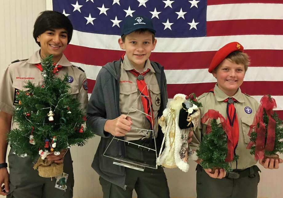 Darien Scouts are holding a holiday bazaar this Sunday. Photo: Darien Scouts