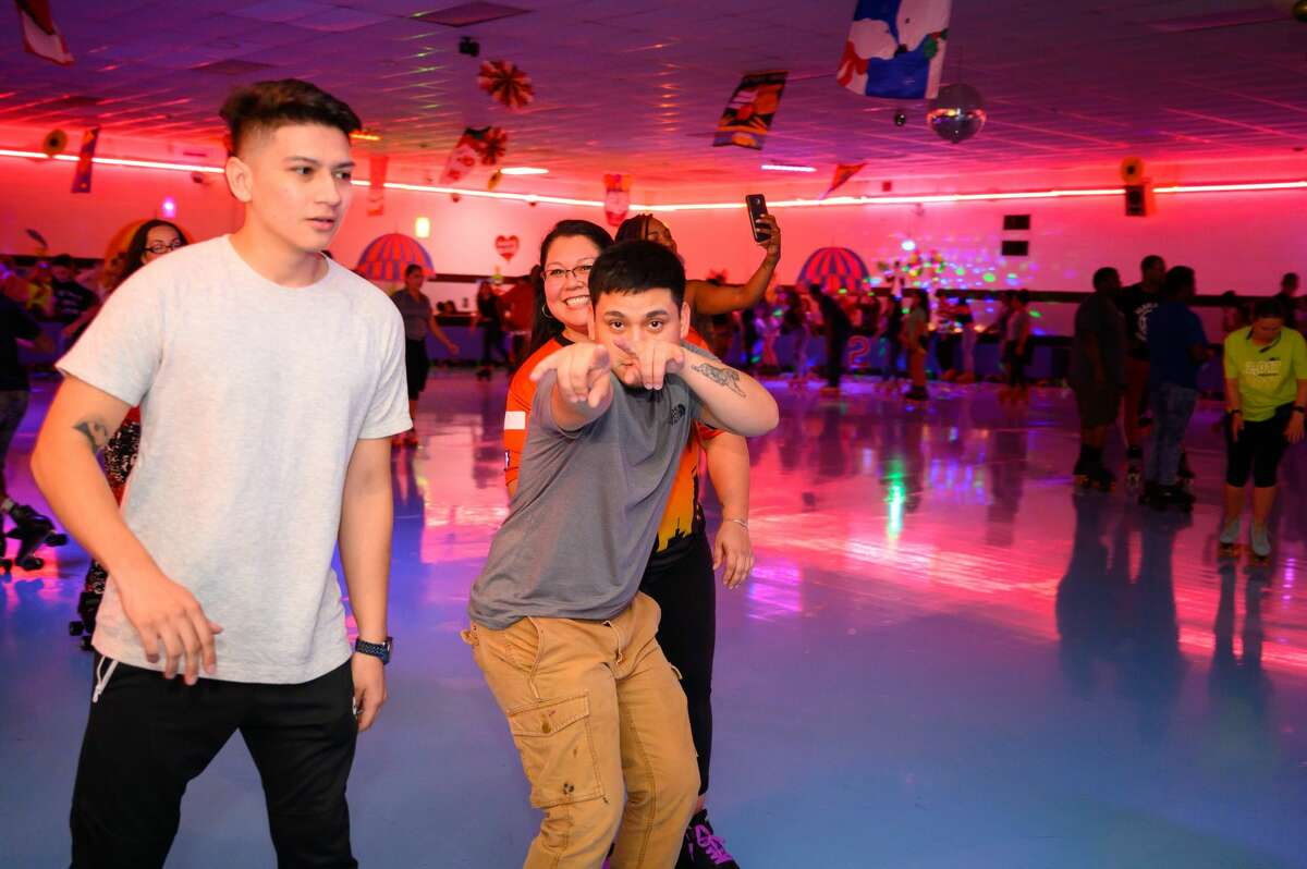San Antonio rolled into the weekend at Car-Vel Skate Center's Thursday night BYOB event.