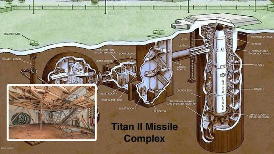 What a Blast! Former Titan Nuclear Missile Silo for Sale in Arizona