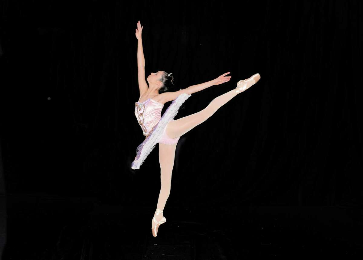 Abigail Coughlin of Wilton as the Sugar Plum Fairy in Nutcracker presented by Connecticut Theater Dance Nov. 23 and 23 in Westport.