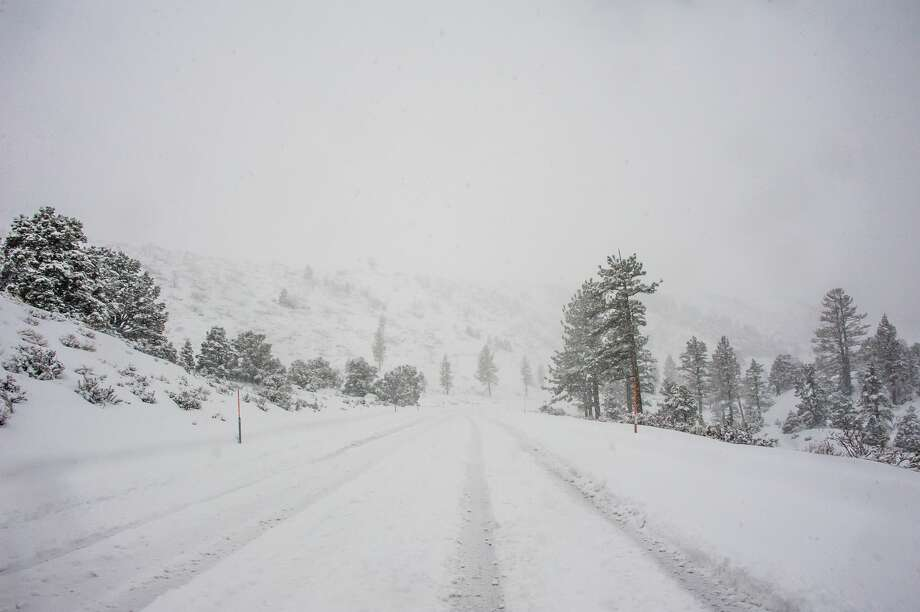 Another storm is set to hit the Tahoe Basin this weekend. Motorists are being advised to avoid roads. Photo: Denise Taylor/Getty Images