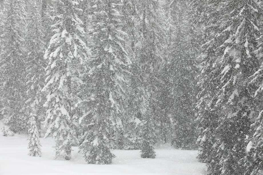 A storm is forecast to hit the northern Sierra Nevada, including the Tahoe Basin, during Thanksgiving week. Photo: Yenwen/Getty Images/iStockphoto
