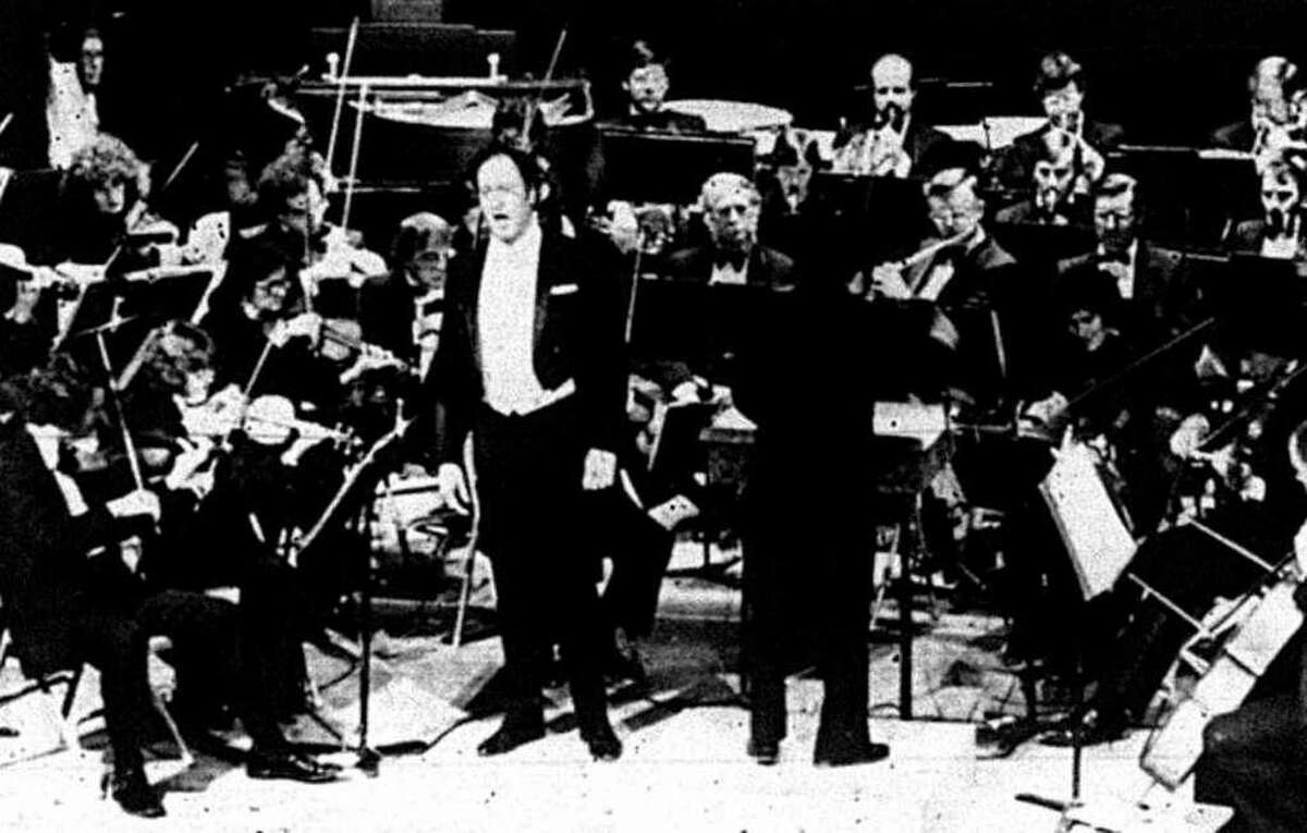 Conroe native Leslie Guinn performed with the Houston Symphony on the Crighton Theatre's reopening night Jan. 25, 1979.