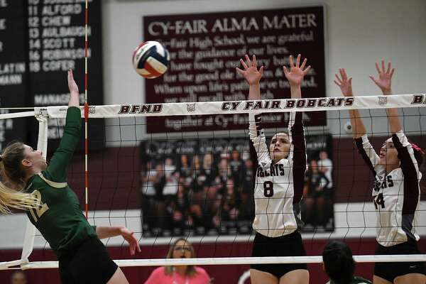 Cypress Athletes Selection To Volleyball All District Teams Houstonchronicle Com
