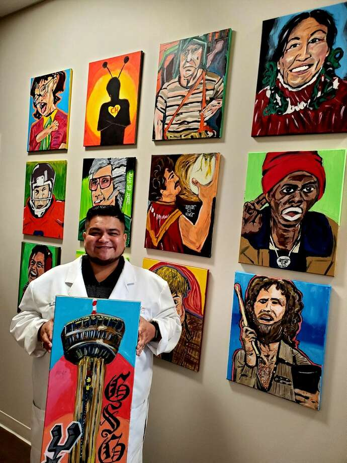 "San Antonio's Dr. Ray Altamirano was highlighted on the national stage again for his efforts to help pay for his patients' medical bills by selling his artwork. He received praise on ""The Doctors"" daytime talk show during an episode that aired Wednesday. Photo: Dr. Ray Altamirano"