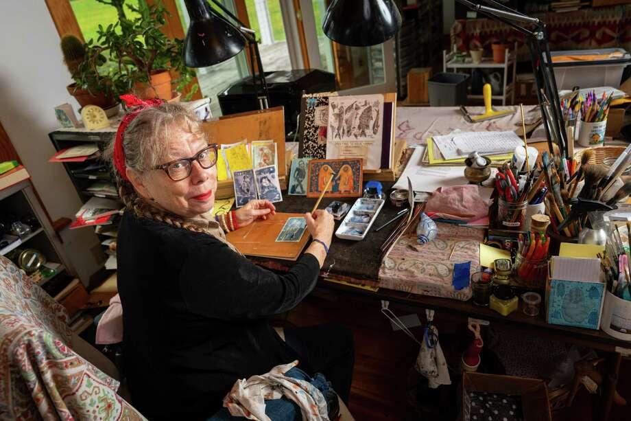 "Lynda Barry, who hopes to study the creative habits of preschoolers, was awarded a 2019 MacArthur Fellows Program ""genius grant."" Photo: John D. And Catherine T. MacArthur Foundation / John D. and Catherine T. MacArthur Foundation"