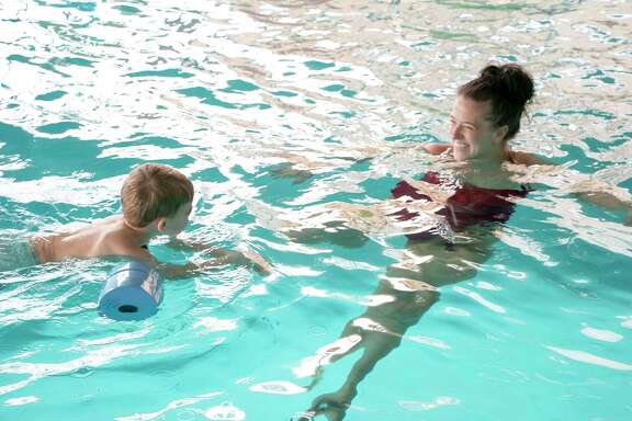 Emily Hansen is the owner and swim instructor for All Things Swim, an indoor swimming pool lesson center located in Humble. She teaches all ages and can teach children with special needs how to swim safely.