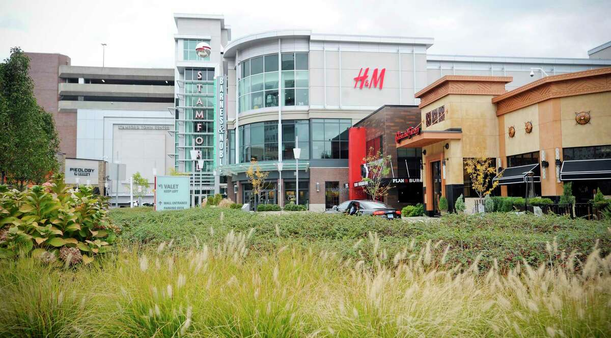The Stamford Town Center mall has been put up for sale by its owner, Taubman Centers.