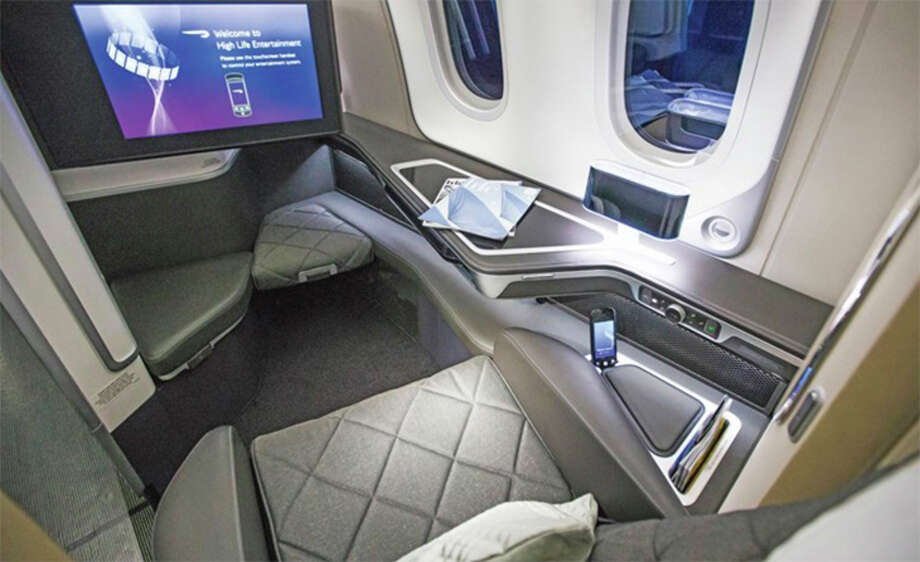 British Airways is keeping first class seating on its new 787-10, coming to Atlanta in 2020. Photo: British Airways