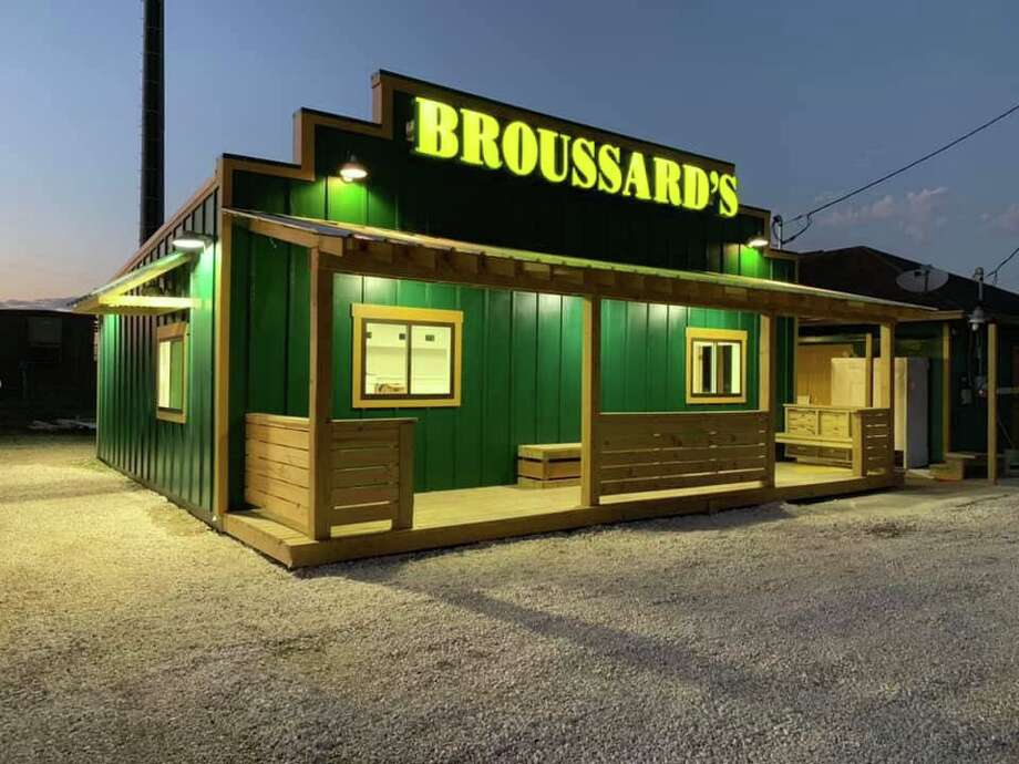 Broussard's BBQ is back with a new building and plenty of barbecue after it was destroyed in a May lightning storm. Photo: Courtesy Of Broussard's BBQ