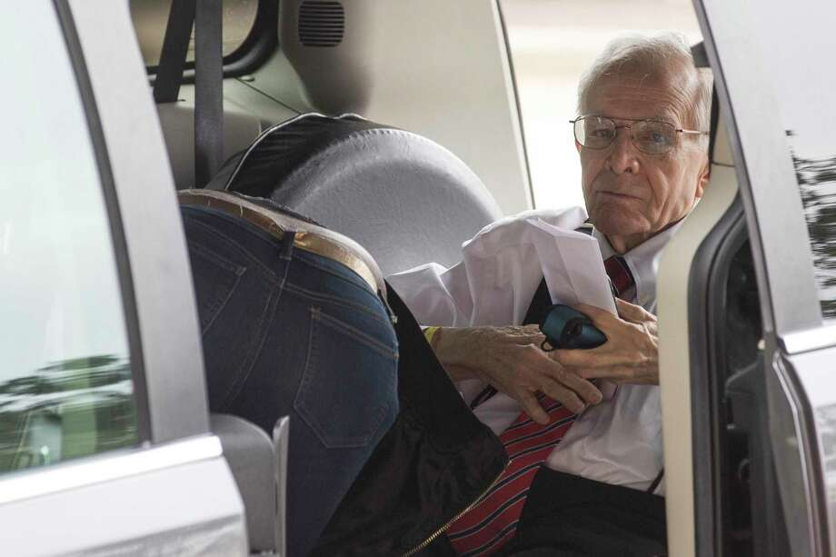 James Dannenbaum arrives to the Bob Casey United States Courthouse to appear in court on allegations of election fraud on Friday, Nov. 22, 2019, in Houston. Dannenbaum, a former University of Texas regent and ex-CEO of an influential engineering firm, faces allegations of election fraud, involving alleged improper donations his employees made to three candidates for U.S. Congress. Photo: Brett Coomer, Houston Chronicle / Staff Photographer / © 2019 Houston Chronicle