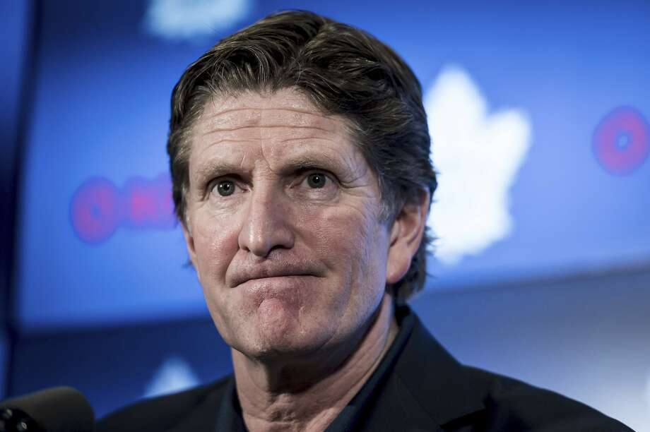 Mike Babcock has coached his teams to the playoffs 14 times in 16 seasons. Photo: Christopher Katsarov / Associated Press