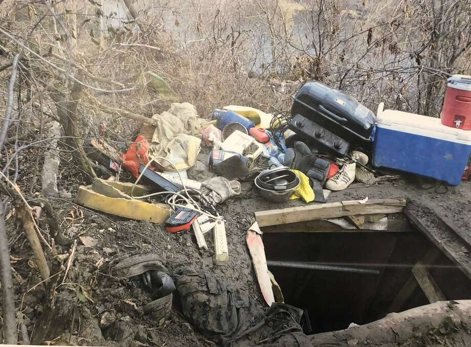 """Milwaukee County Sheriff Earnell Lucas said it's possible that 41-year-old Geoffrey Graff had been living in the bunker for """"maybe years"""" but that authorities don't know for certain. Graff came to authorities' attention when residents reported shots fired Wednesday morning near a wooded area overlooking the river. Photo: Milwaukee County Sheriff's Office"""