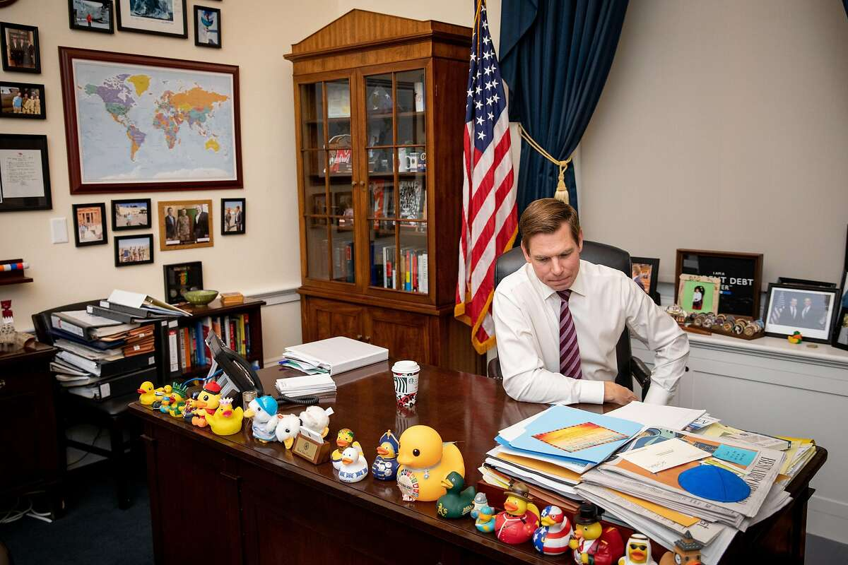 Rep. Eric Swalwell, D-Dublin, is not accused of any wrongdoing in his ties to a suspected Chinese spy.