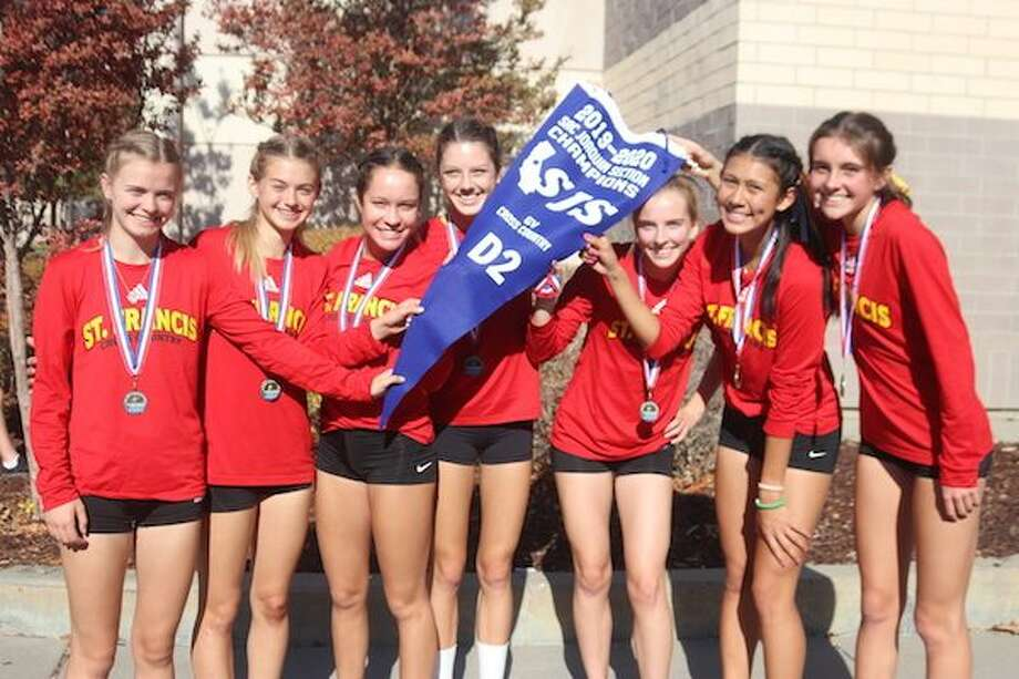 The St. Francis Catholic - Sacramento cross country team won its fourth consecutive Sac-Joaquin Section Division II title and qualified for the CIF State Cross Country Championships Photo: SportStars Magazine