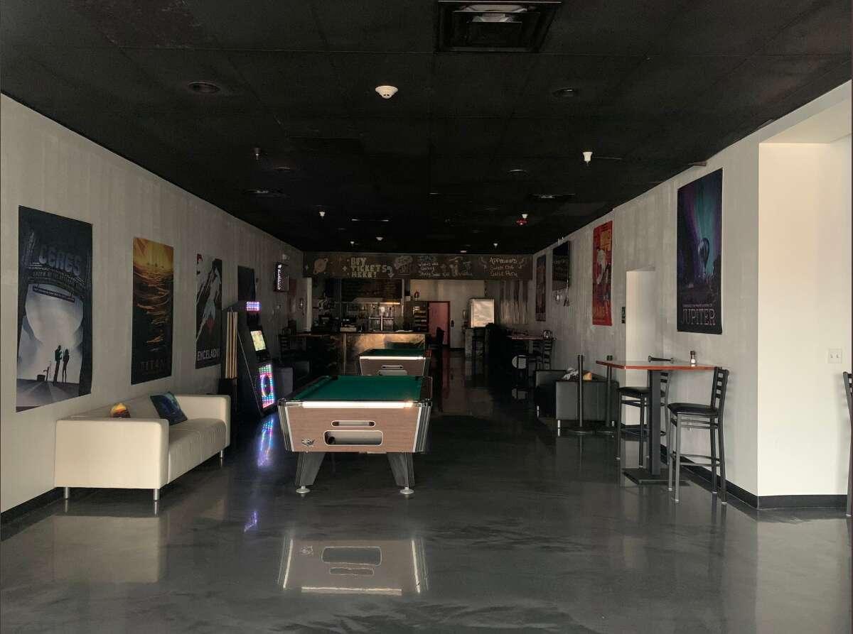 The interior of the former Cosmic Cinemas in Hudson.