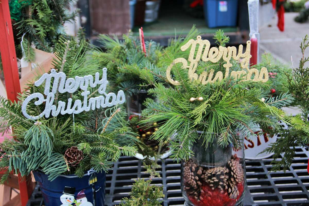 During the Downtown Holiday Market, area residents had the opportunity to do a little Christmas shopping. Vendors sold a variety of items including glass ornaments, Christmas trees, kettle corn, pies and more.
