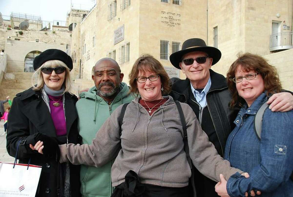 From left: Sally Z'l, brother-in-law Andrew, sister-in-law Beth, father-in-law Mel and Roseanne