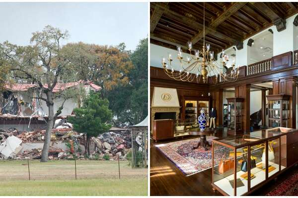 PHOTOS: The 1929 West mansionAs of Friday afternoon, the historic 1929 West mansion in Clear Lake was slowly being reduced to rubble. >>>Go back in time and see the stunning property in it's prime when it housed Houston Rockets legend Hakeem Olajuwon's DR34M boutique...