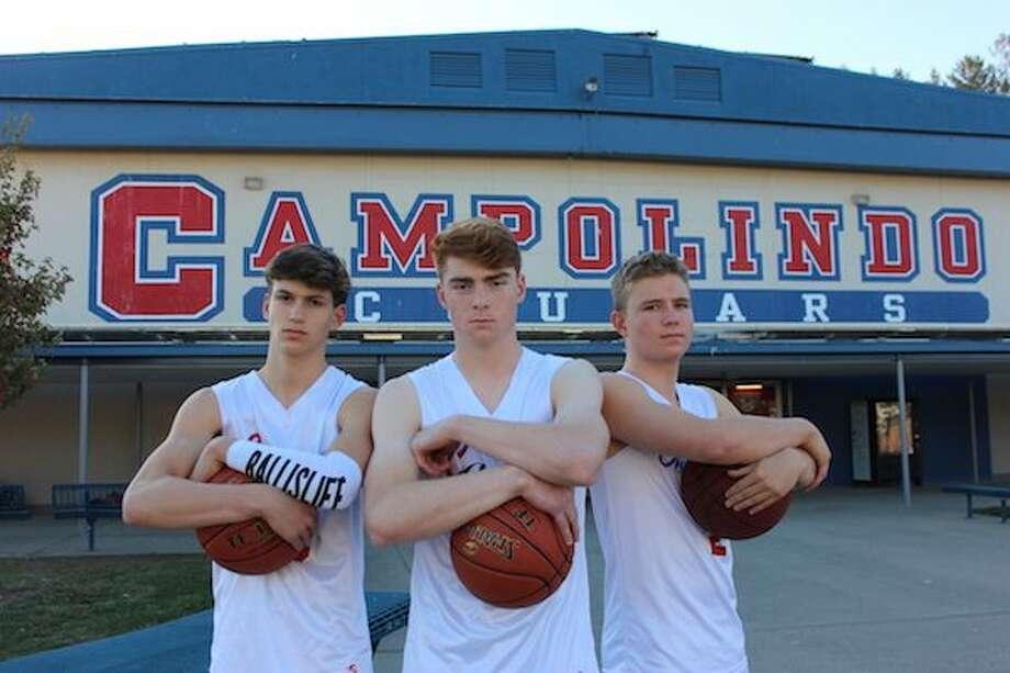 Campolindo boys basketball, Cougars, Mahaney Photo: SportStars Magazine