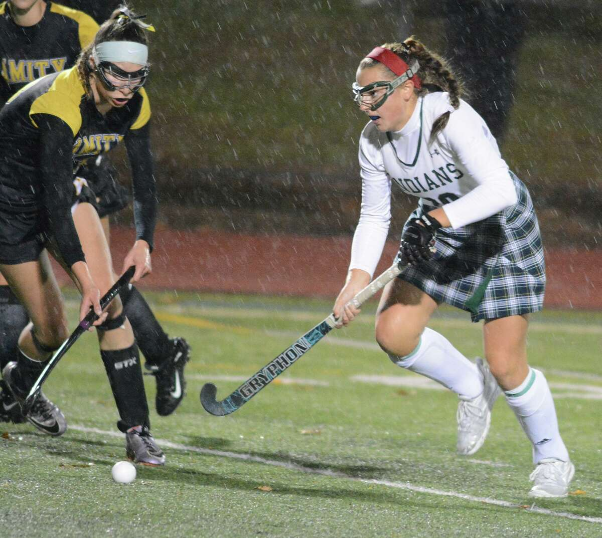 Guilford's Maddie Epke was named MVP of the SCC field hockey tournament championship game.