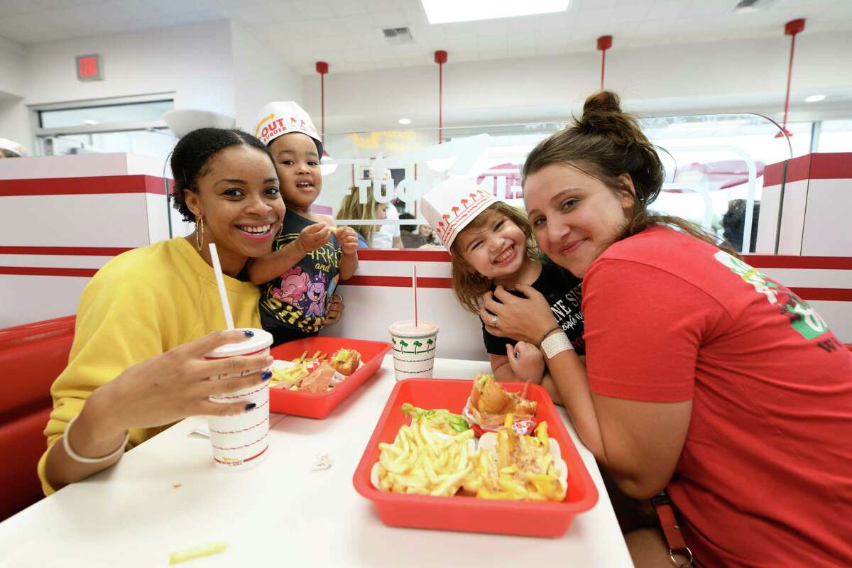 Grand opening of In-N-Out in Katy, TX on Friday, November22, 2019