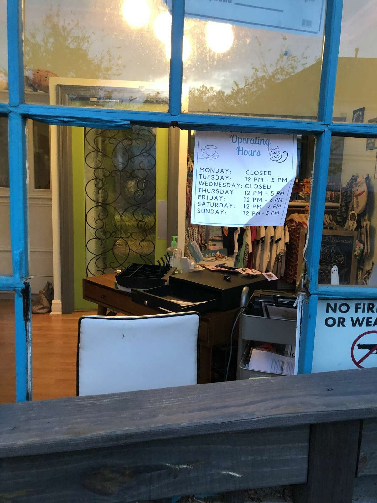 El Gato Coffeehouse, Houston's first and only cat café, was broken into in the early morning on Friday.