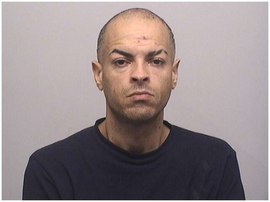 Anthony Nunez, 38, was charged with robbery for a shoplifting incident with a weapon at Target in Stamford. Photo: Stamford Police Department / Contributed