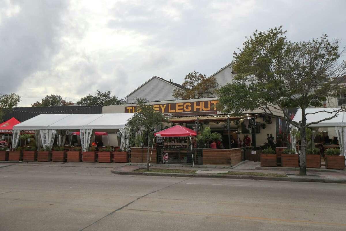 The Turkey Leg Hut Thursday, Nov. 21, 2019, in Houston.