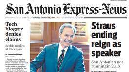 Oct. 26, 2017: Straus ends reign