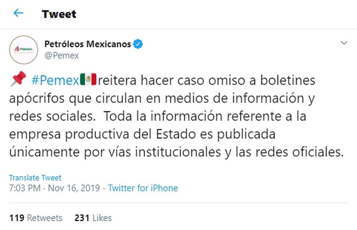 American oil companies operating south of the border are stepping up their cybersecurity measures following reports of a ransomware attack that allegedly knocked out computers at Mexico's state-run oil company Petroleos Mexicanos, or Pemex. Company officials did not respond to Houston Chronicle inquiries about the incident but denied that the attacks took place in a pair of tweets issued last week. One stated that the state-run oil company was