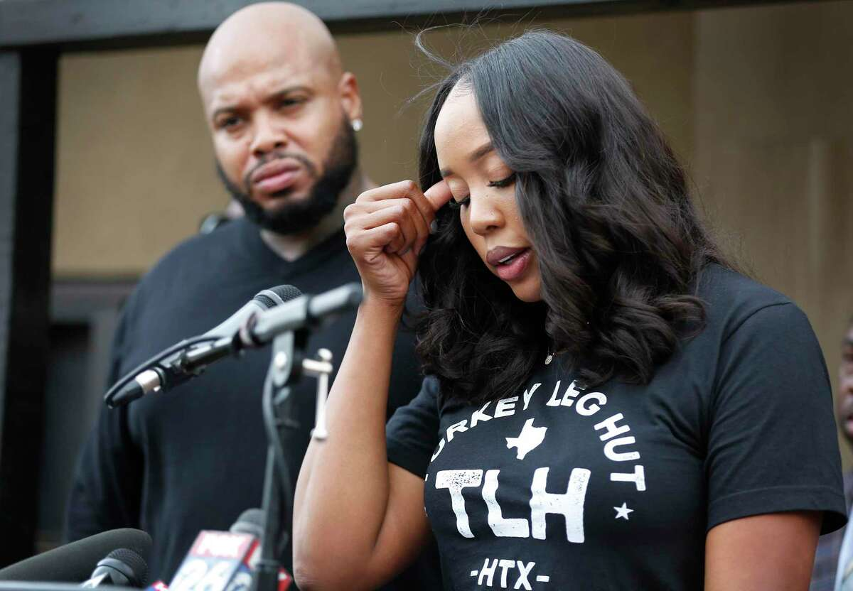 Nakia Price addresses allegations of a lawsuit filed by a small group of residential neighbors as her husband and Lyndell