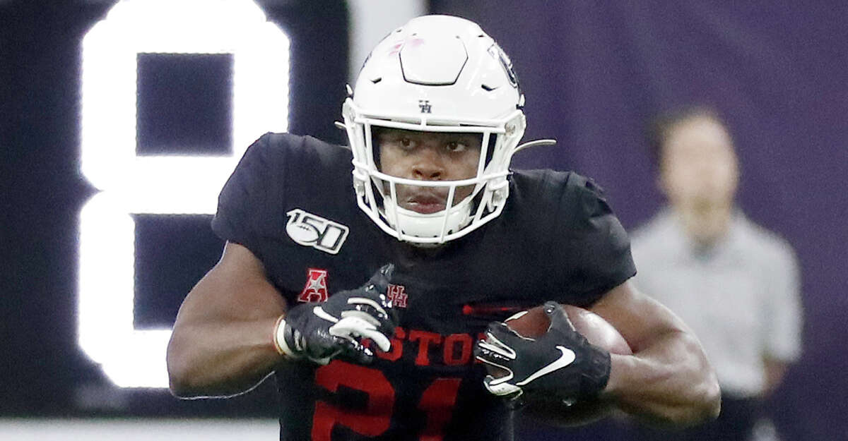 Running back Patrick Carr will be among the UH seniors recognized at Saturday's regular-season finale against Navy.