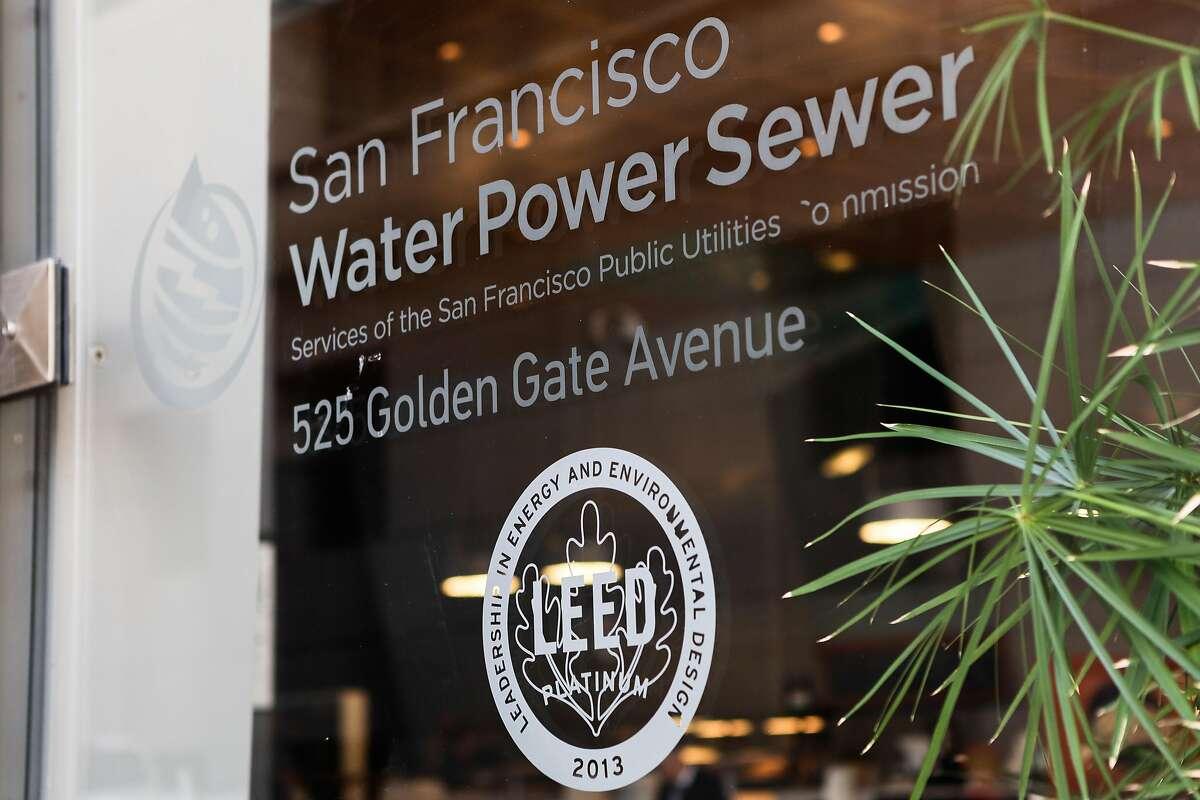 San Francisco Public Utilities Commission Headquarters on Wednesday, Nov. 20, 2019, in San Francisco, CA.