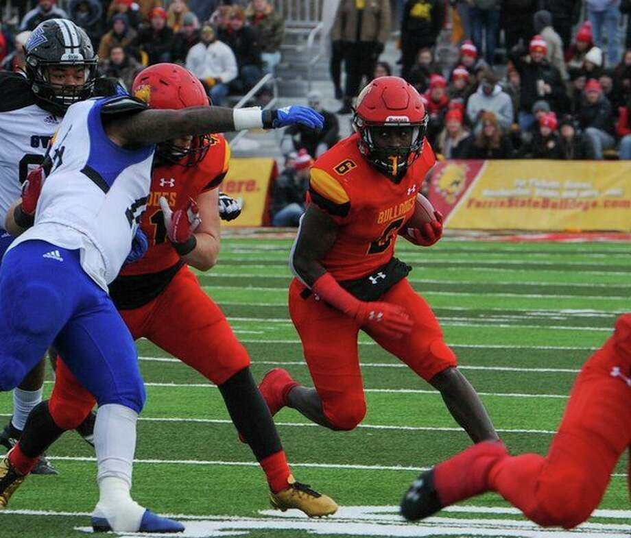 Tyler Miner (6) has been among Ferris' top offensive weapons this season. (Ferris photo)