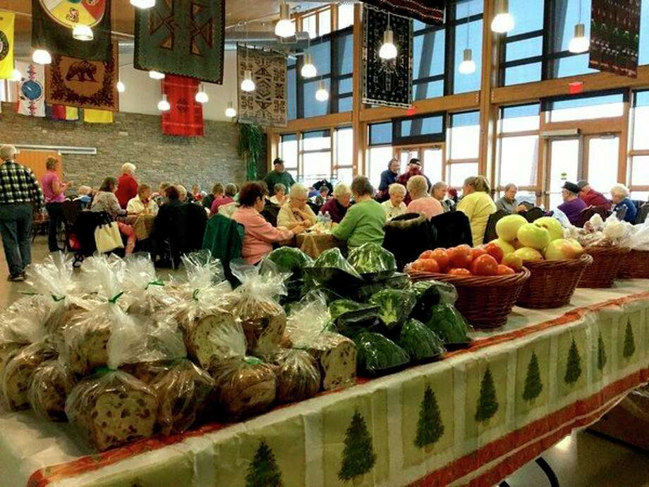 Monday's road trip to the Aki Community Center made for a fun day, hopefully the first of many joint adventures to come. Nearly 80seniors and elders joined together and shared lunch and an afternoon of produce bingo. (Courtesy photo)