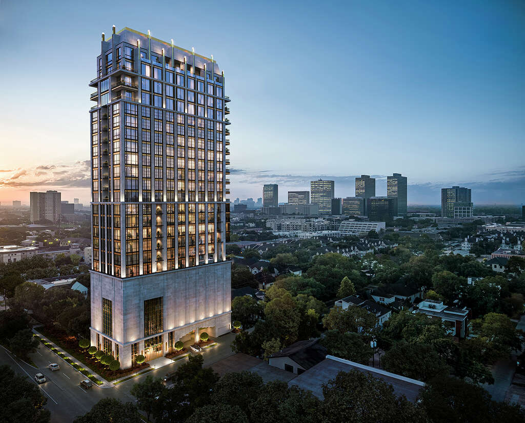 <p>Randall Davis is planning to build The Paramount, a 25-story condominium tower on Westheimer near Weslayan.</p>