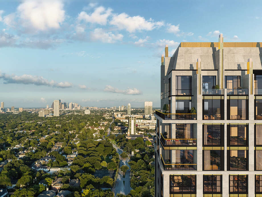 Randall Davis is planning to build The Paramount, a 25-story condominium tower on Westheimer near Weslayan. Photo: Courtesy Of Randall Davis Co.