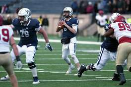 Yale quarterback Kurt Rawlings was named one of two finalists for the Ivy League Offensive Player of the Year on Tuesday.