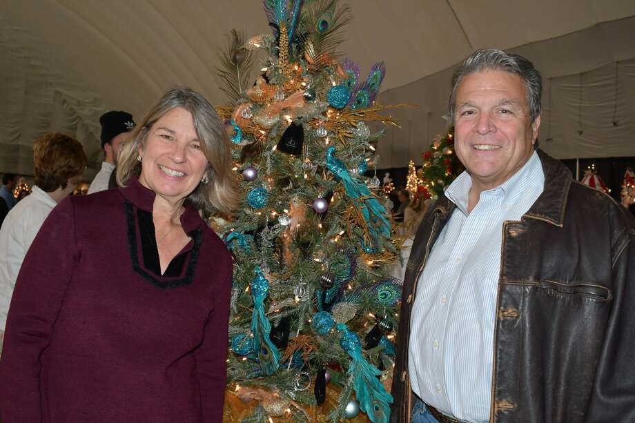 Ann's Place held its annual Festival of Trees holiday event at the Danbury Sports Dome in Danbury. Ann's Place is a non-profit community organization offering support to those affected by cancer. Guests enjoyed a beer tasting,  music, Christmas decorations and more. Were you SEEN on November 23, 2019? Photo: Vic Eng / Hearst Connecticut Media Group