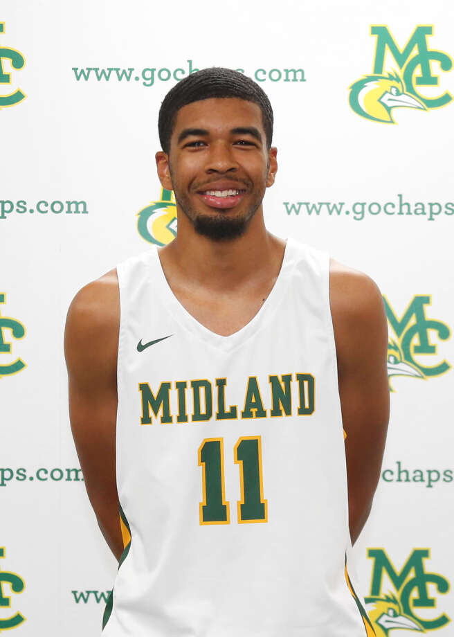 Midland College basketball player Kirk Smith Jr. Photo: Forrest Allen,  MC Athletics