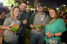 Houston Margarita Festival at Buffalo Bayou Park near downton Houston on Saturday, November 23, 2019