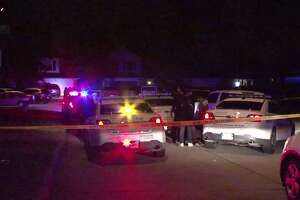 Two people were shot after a fight erupted at a house party in northwest Harris County on Sunday morning.