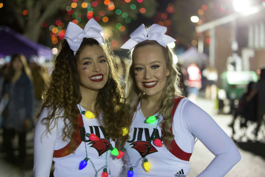 San Antonians came out to see UIW's annual Light the Way ceremony on Saturday, November 23, 2019. Photo: B. Kay Richter
