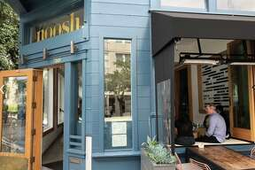 The exterior of Noosh, where executive chefs Laura and Sayat Ozyilmaz were terminated from working last week following a lawsuit alleging breach of contract and fraud. The couple denied such claims.