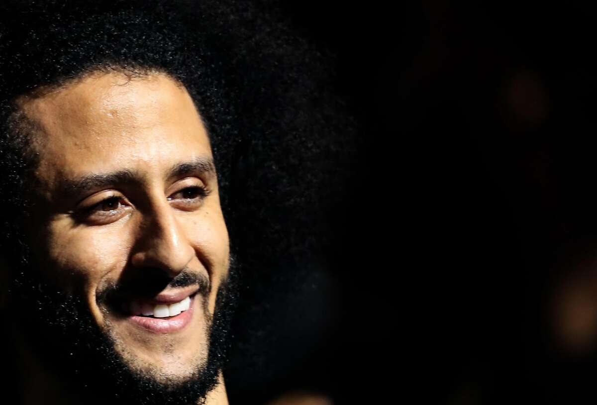 Kaepernick will almost certainly not make that pool of finalists. This is because of his stats, but also because, if you take a look at that list of 48 selectors, it's not exactly oversaturated with people sympathetic to him. These are football people. They abhor the intrusion of real life into football nearly as much as Bob McNair did. They are all very much stick-to-sports types.Also, the football Hall of Fame does not include a character clause. This is the clause that has essentially frozen the Baseball Hall Of Fame in place ever since Mike Lupica decided that players using steroids stole his innocence. Football's committee is under no such obligations, which is usually a good thing, even if it means O.J. Simpson's bust in Canton remains in place (except when it's been stolen).